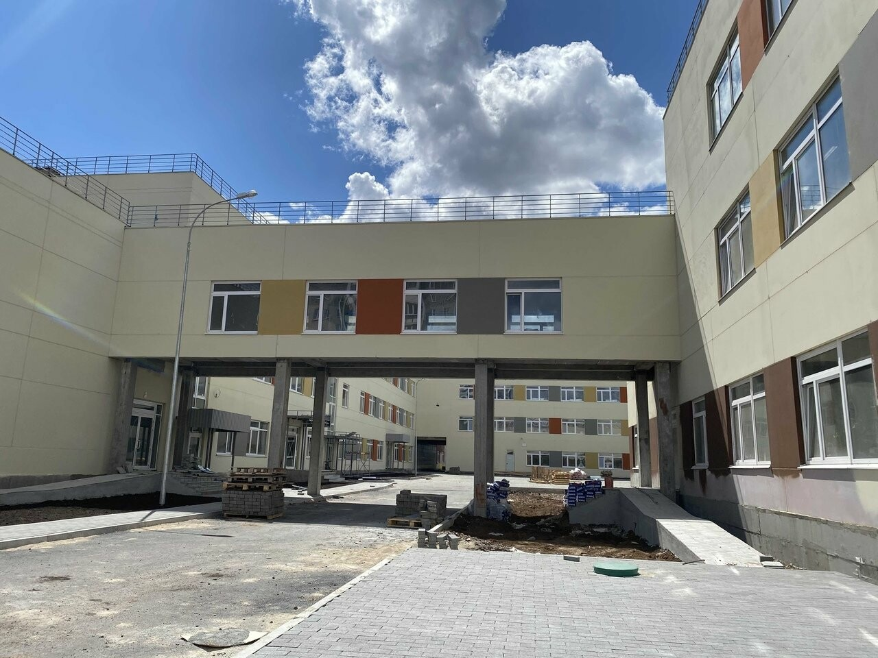 Самая большая школа в Магнитогорске откроется 1 сентября, фото-1