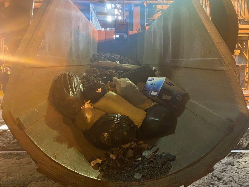 125 килограммов наркотиков сожгли в печи металлургического комбината, фото-1