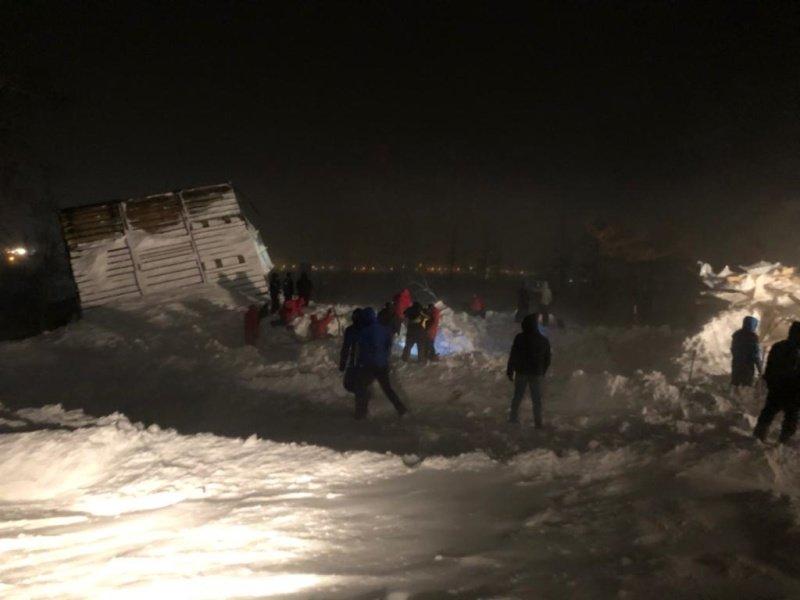 Поисково-спасательные работы на месте схода лавины в Норильске завершены, фото-1